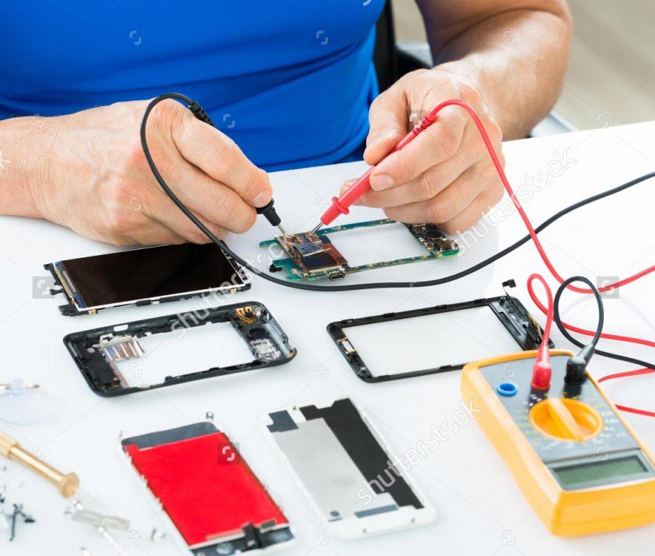 Hardware repair of motherboards
